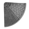 Dish drying rack Grey 371438