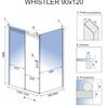 Shower enclosure Rea Whistler 90x120cm