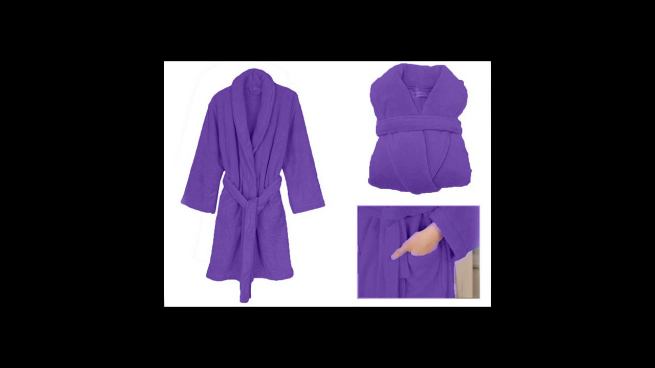 Bathrobe Lady Secret purple