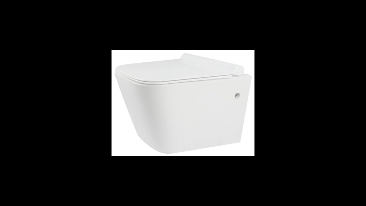 Toilet bowl Rea Ryan Rimless Duroplast Slim