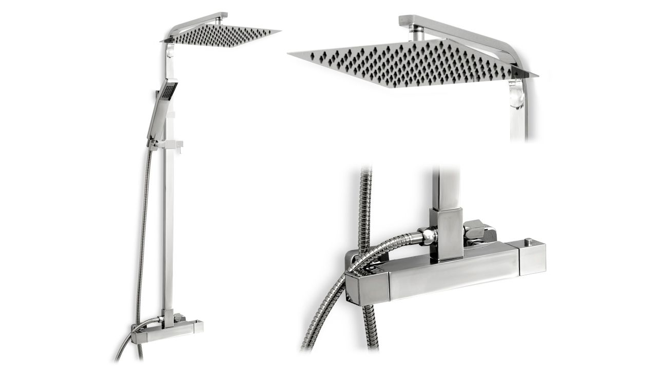 Thermostatic shower Set Rea Milan