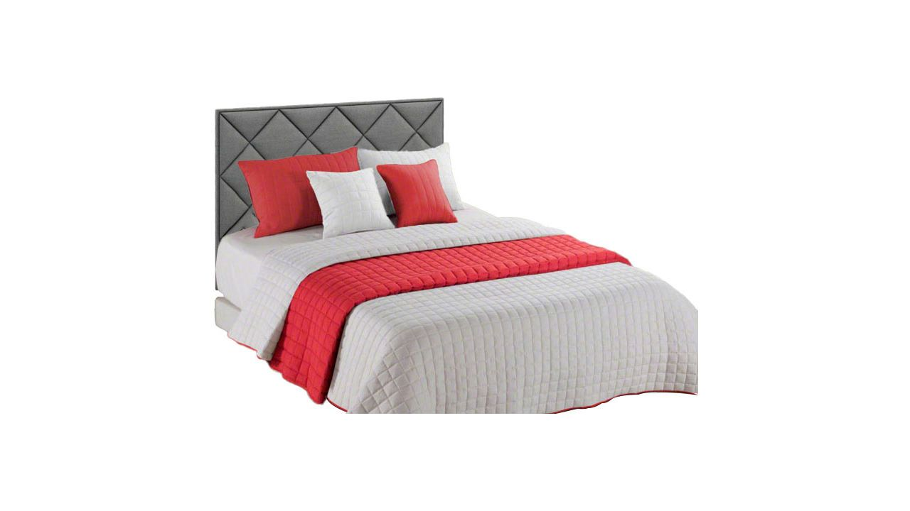 Double-sided bedspread Amanda Red-Creme
