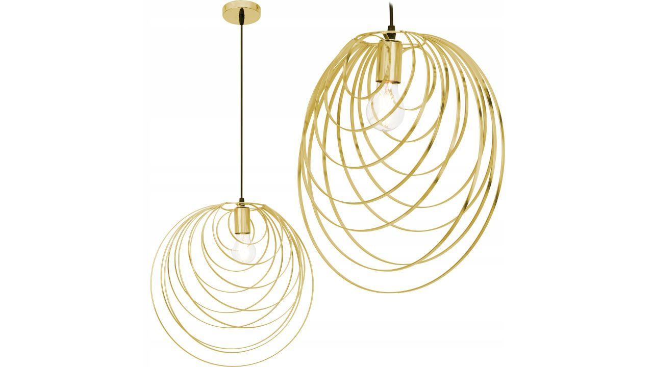 Geometric Ceiling Lamp GOLD APP428-1CP