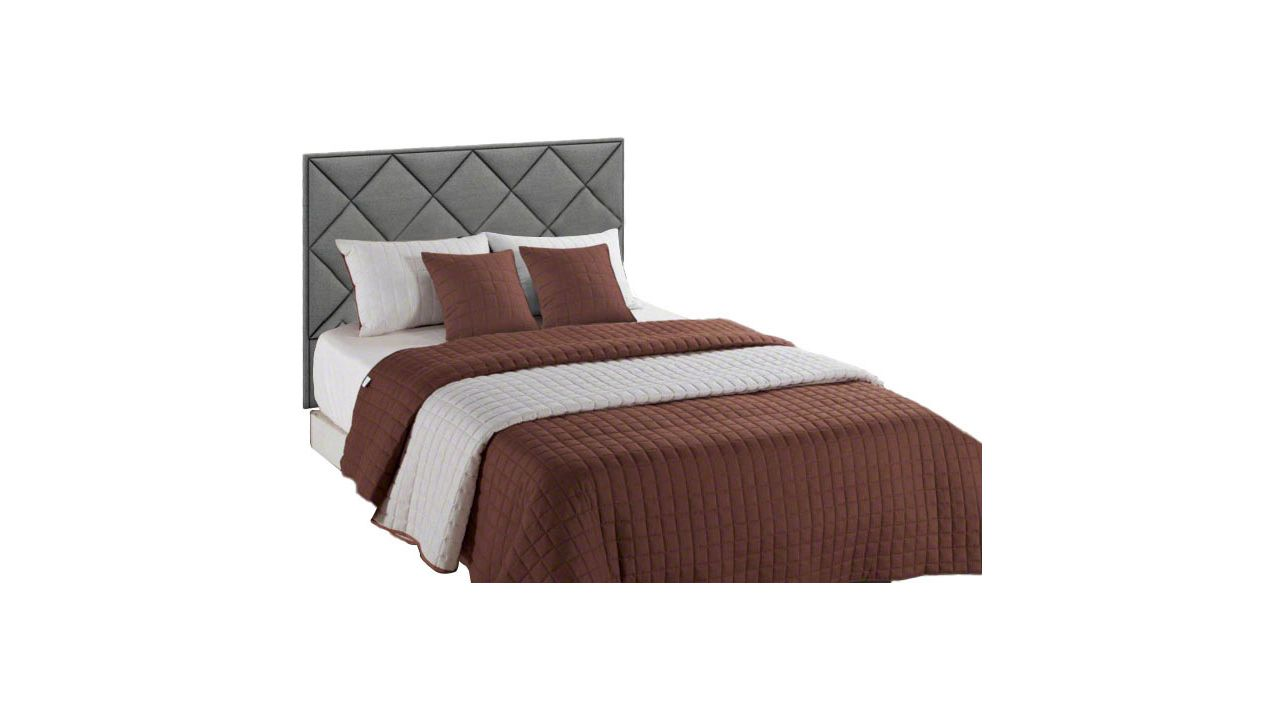 Double-sided bedspread Amanda Brown-Creme