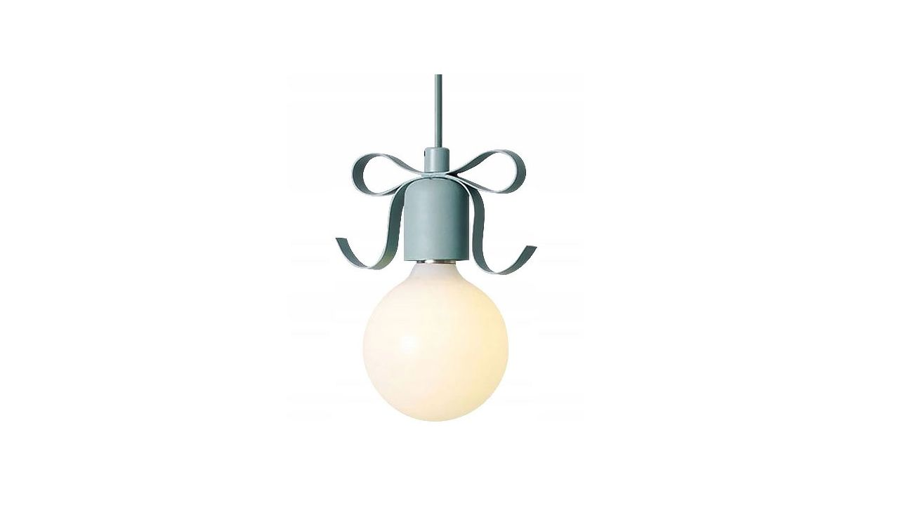 Single Pendant Ceiling Lamp NARNI Green