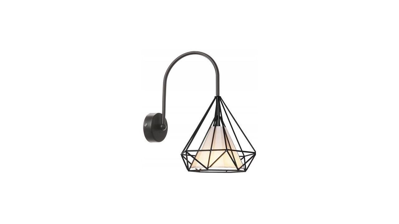 Loft Style Wall Lamp Sconce E27 BELLO METAL