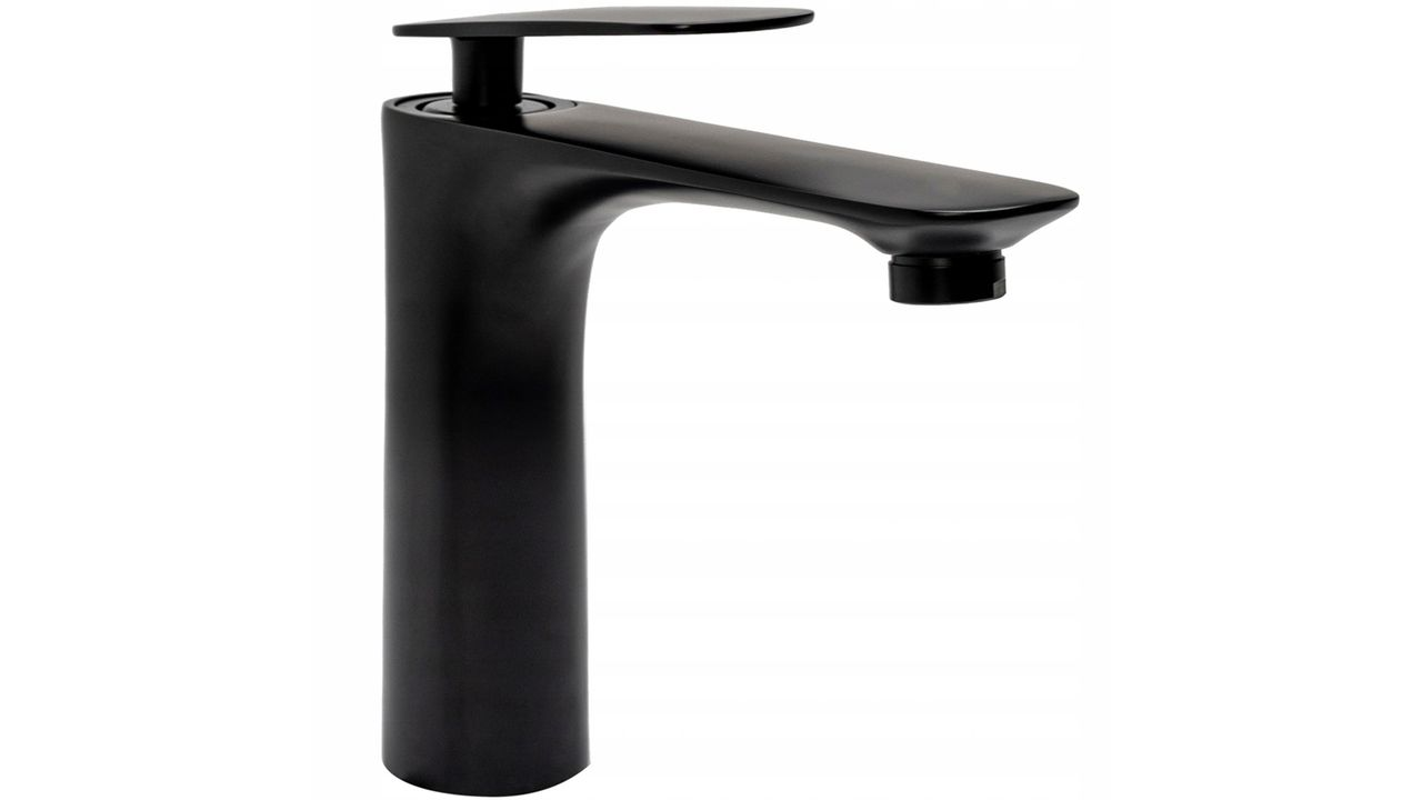 Bathroom faucet Rea Astro Black Low