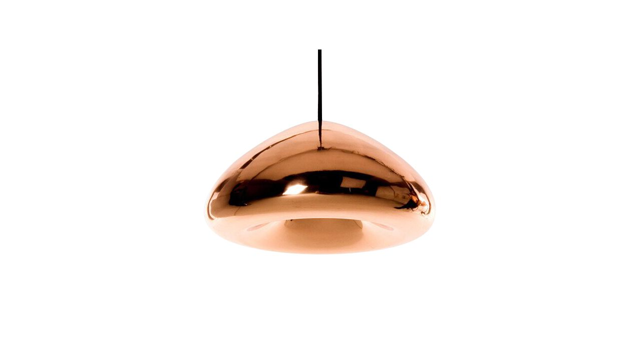 Mirror Glass Pendant Ceiling Lamp APP321-1CP Rose Gold