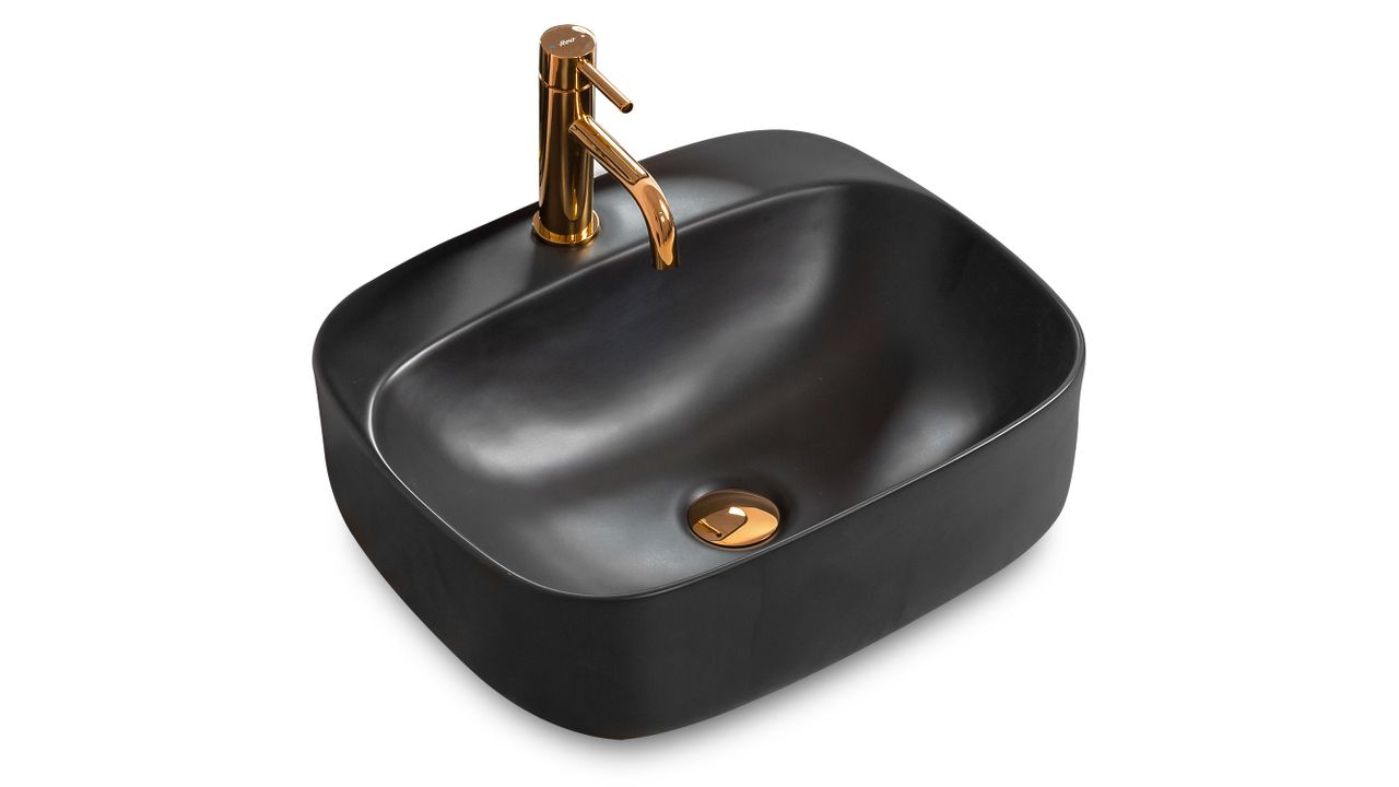 Countertop Basin Luiza 50 Black MAT