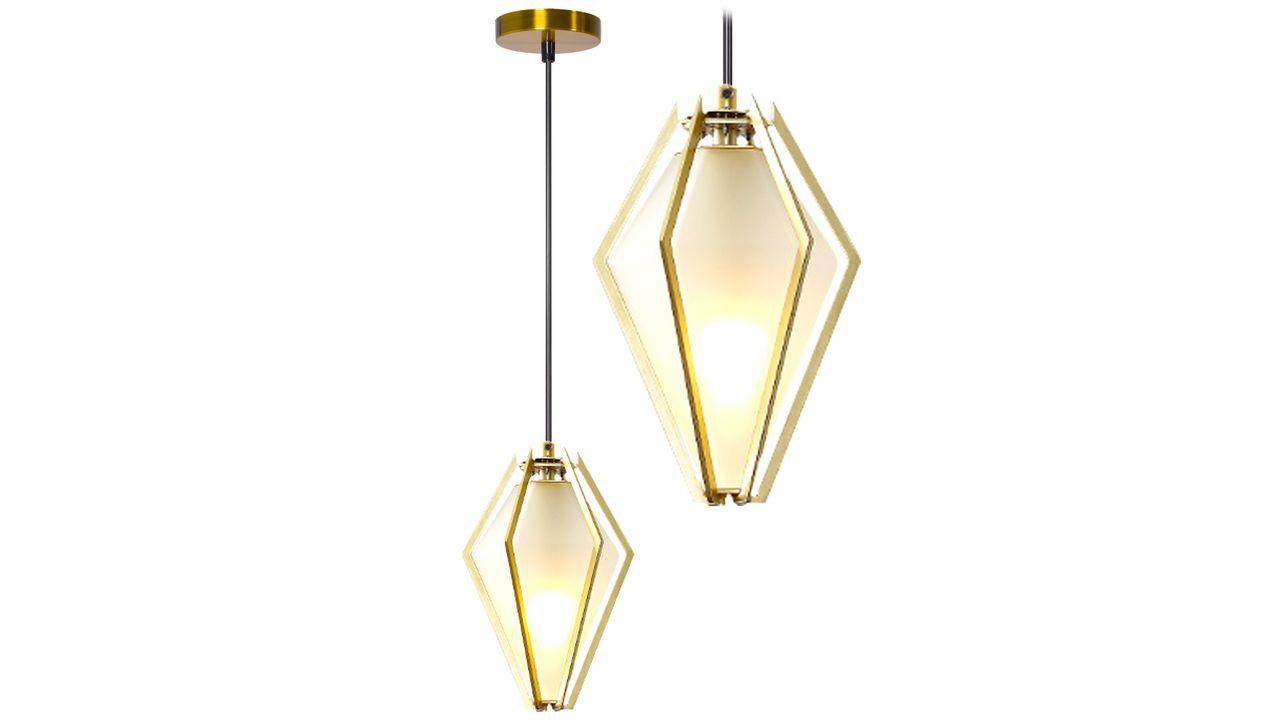 Pendant Ceiling Lamp Diamond Milk APP449-1CP+C3719:C3755
