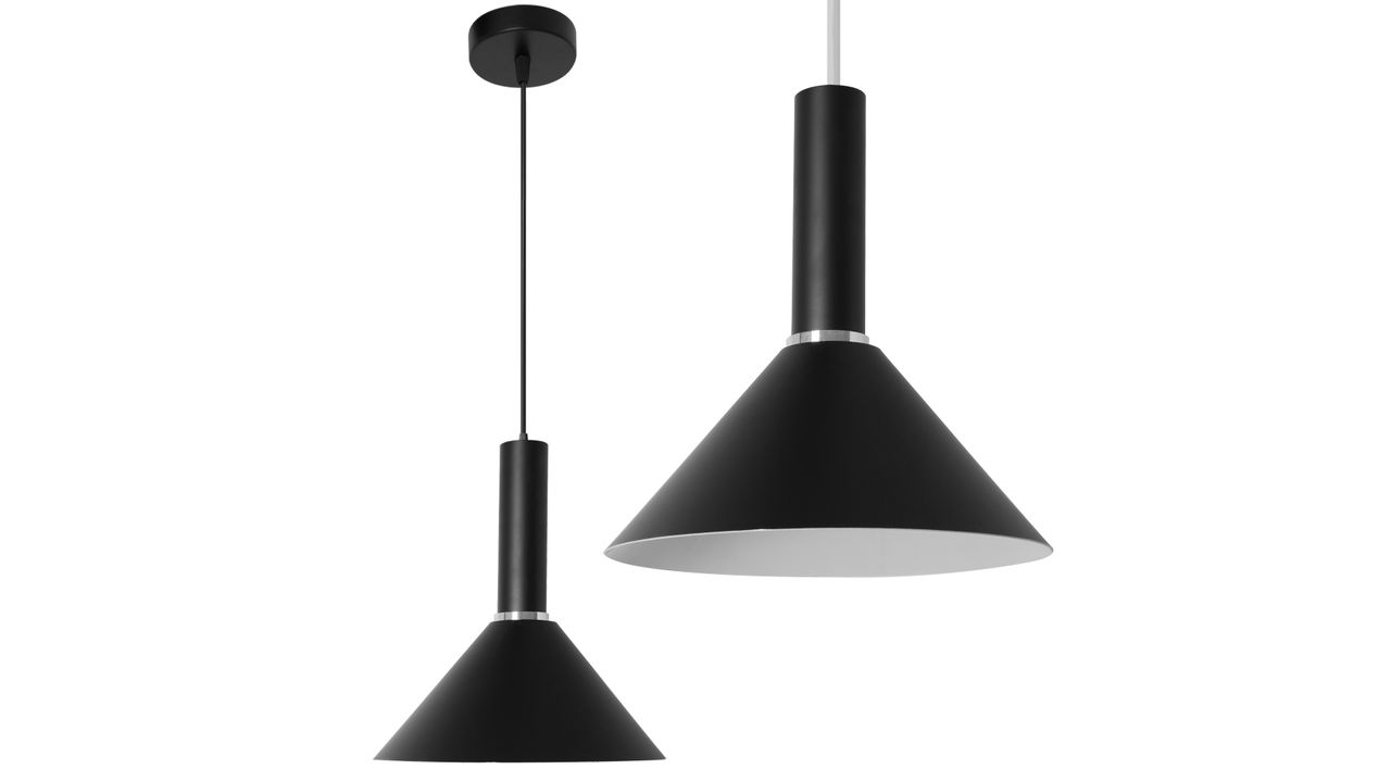Single Pendant Ceiling Lamp OSTI D Black