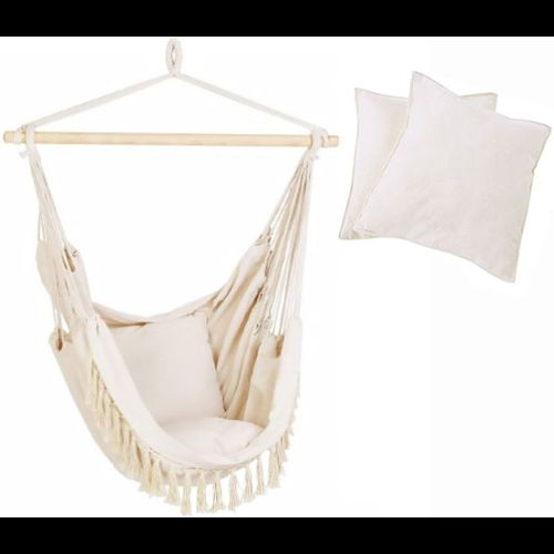 Hammock chair GL093 with pillows
