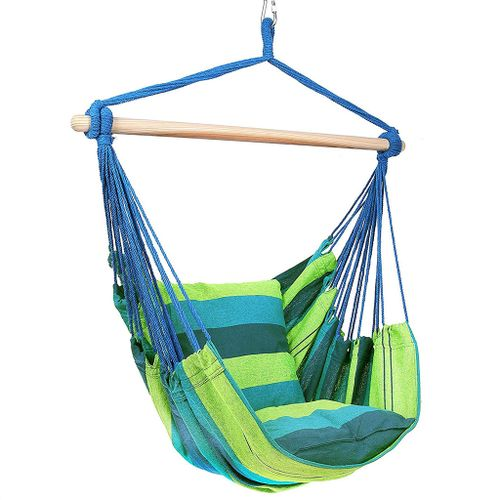 Brazilian hammock chair with Pillows Forest