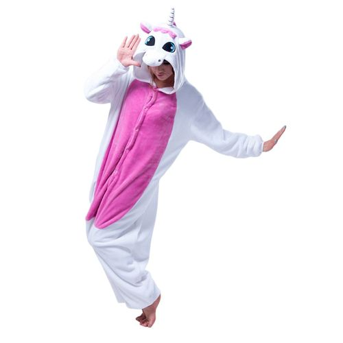 Pajamas disguise Kigurumi Unicorn Pink