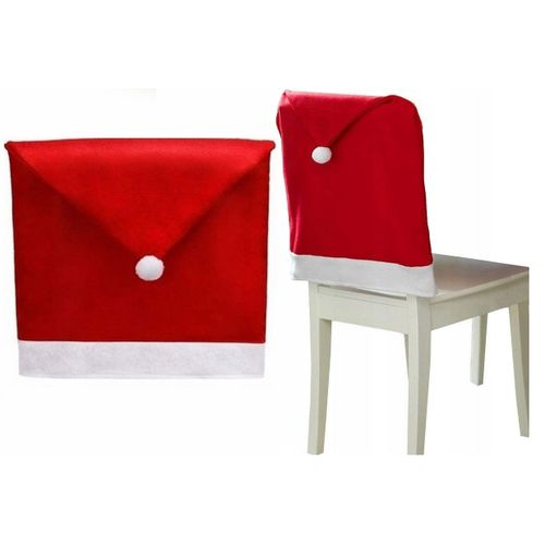 Chair Cover Cap Santa Claus 1 piece