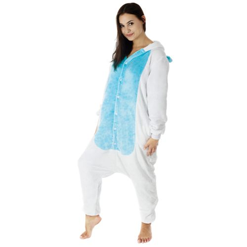 Pajamas disguise Kigurumi Unicorn Blue
